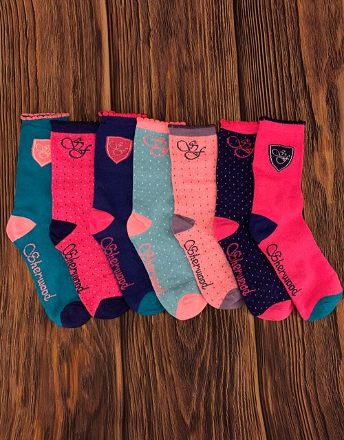 Sherwood Forest ladies Ashford 7 pack socks