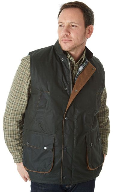 Sherwood Forest Suffolk wax Gilet