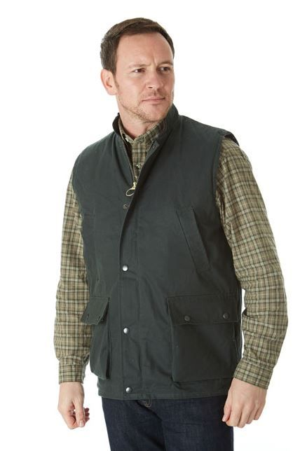 Traditional Wax Gilet